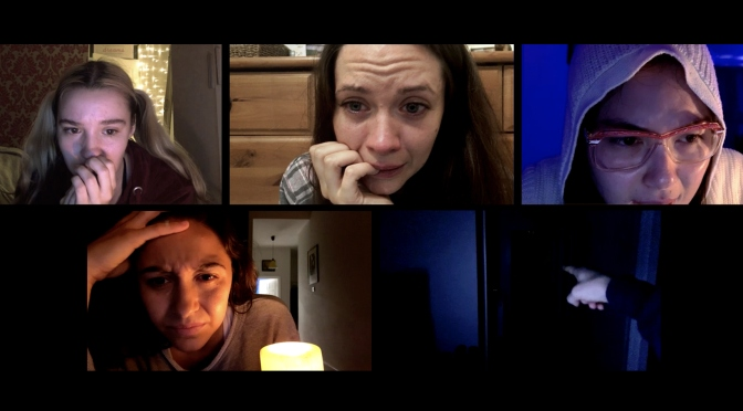 HOST: Found Footage Zoom Horror Isn't Gimmicky- It's Call Your Mom Crying Scary