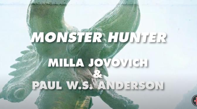 Monster Hunter Interview w/ Paul W.S. Anderson + Milla Jovovich For Fangoria