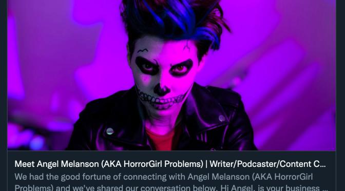HorrorGirl Problems x ShoutOutLA Interview